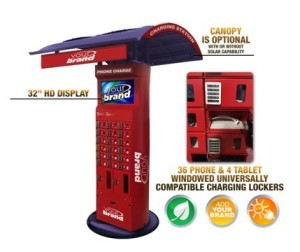 eagle cell phone charging station gocharge