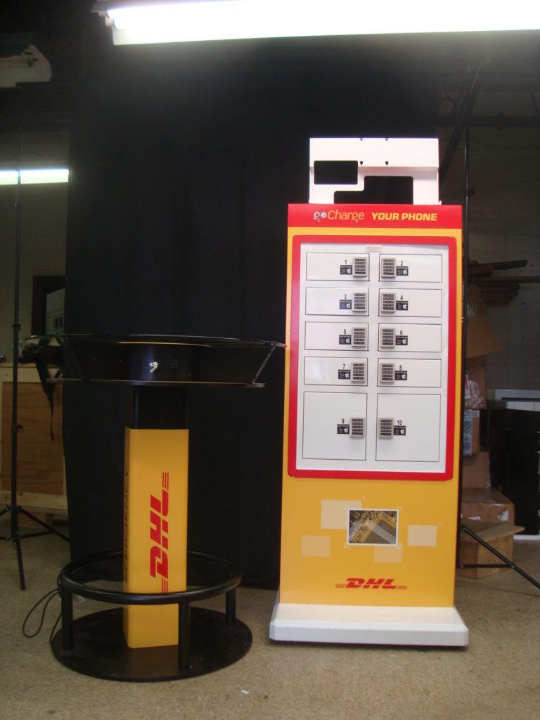 goCharge Custom Branded Cell Phone Charging Kiosk - DHL