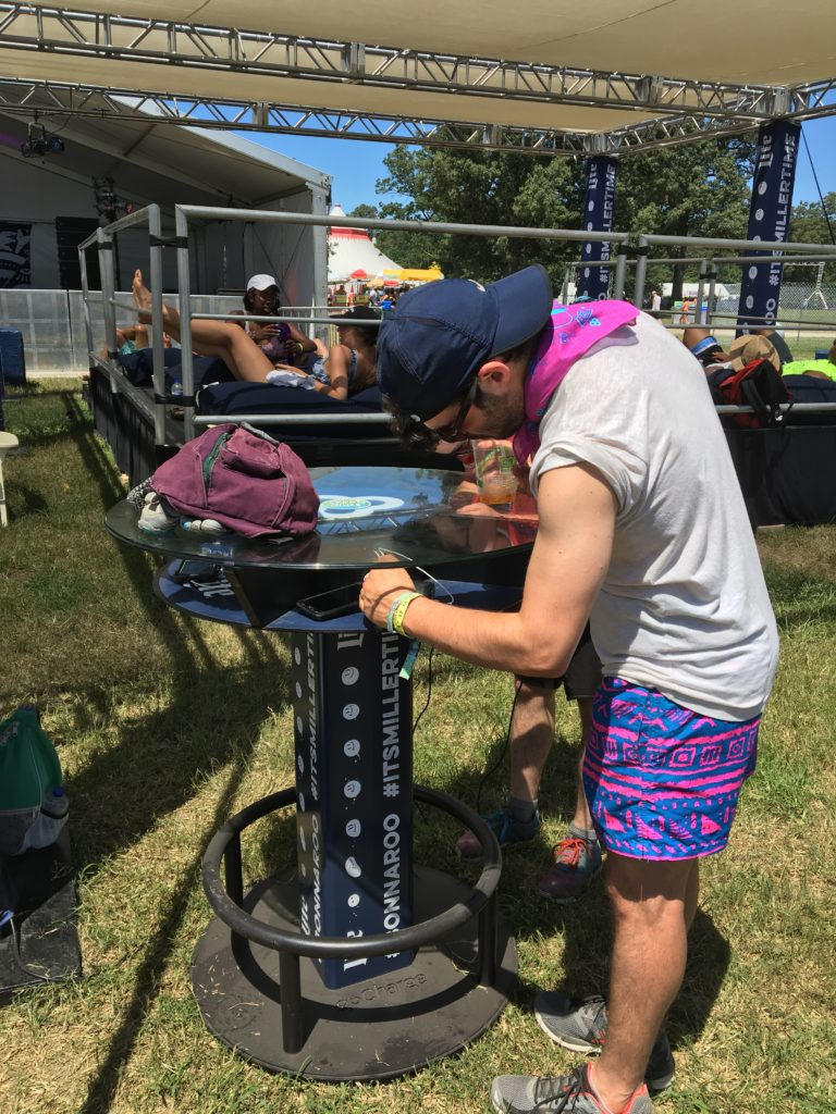 goCharge at Bonnaroo and other festivals
