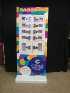 Children's Hospital of Pittsburgh goCharge Cell Phone Charging Station