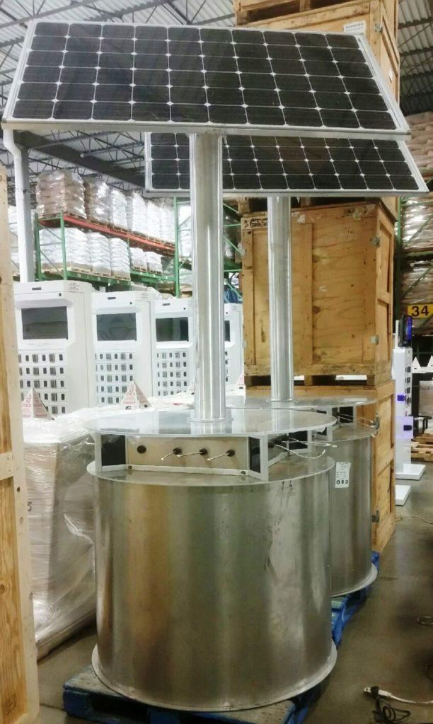 "goCharge Solar Charging Station - ""The Solar System"""