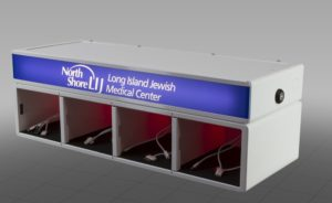Long Island Jewish Medical Center goCharge Cell Phone Charging Station