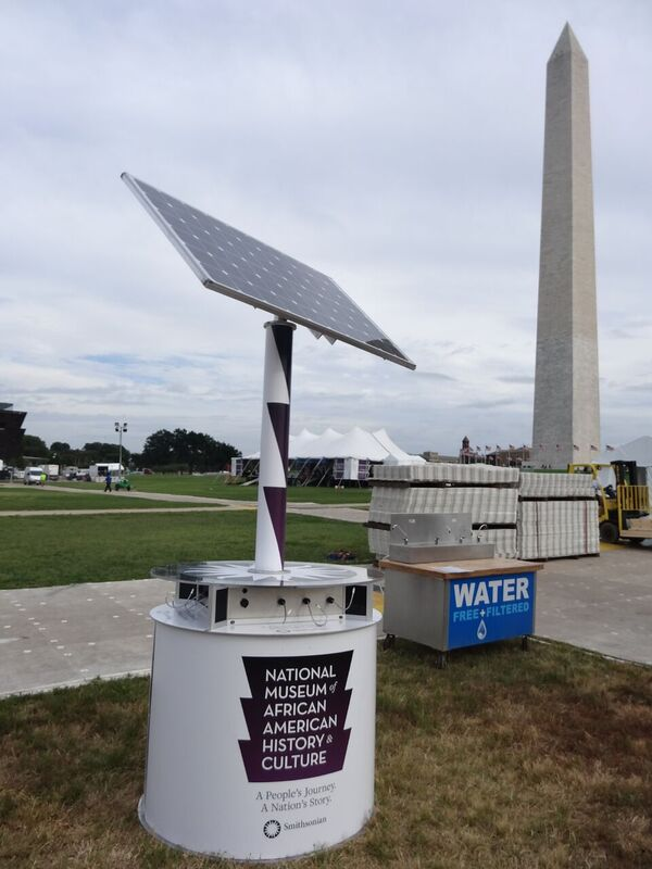 """goCharge Solar Cell Phone Charging Station - """"The Solar System"""""""