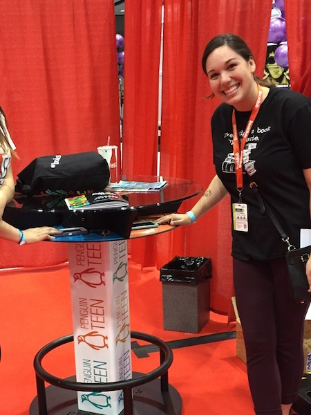 goCharge Charging Tables (Custom Design) at a convention