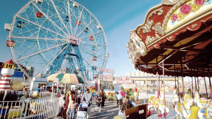 Amusement parks and a charged cell phone battery