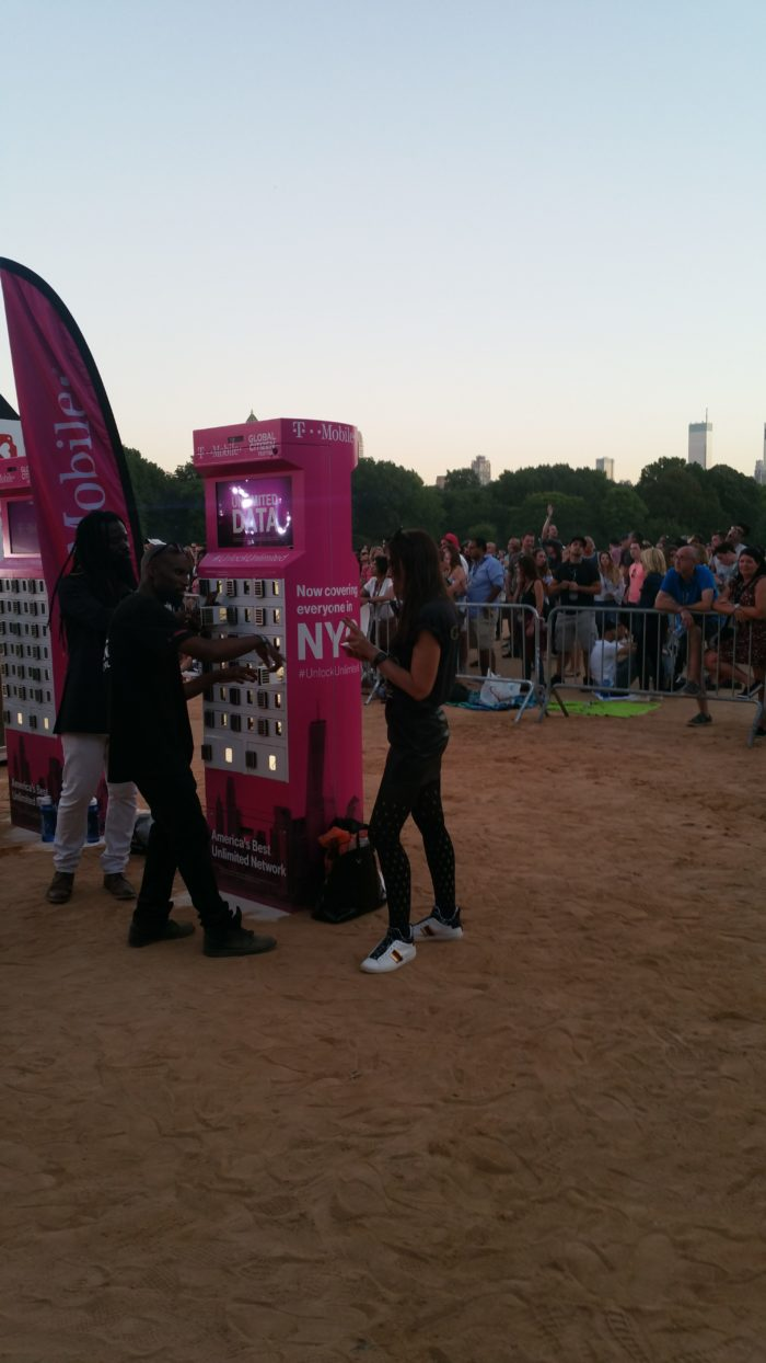 goCharge at Global Citizen Festiival - mobile charging stations