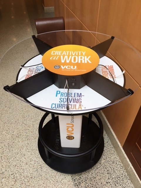 goCharge Cell Phone Charging Table at Universities