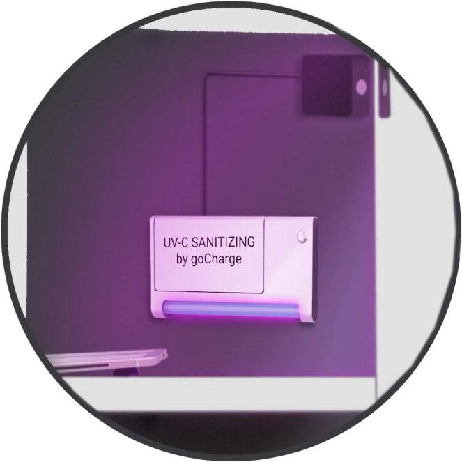 UV-C SANITIZING MODULES FOR LOCKERs